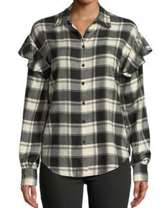 Romeo & Juliet Couture shirt in check print